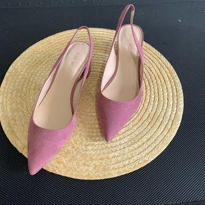 Nine West Kitten BlockHeel Slingback EasyWear Shoe